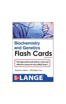 Lange Biochemistry and Genetics Flash Cards, 2nd Ed.
