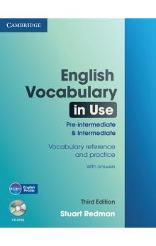 English Vocabulary in Use Pre-intermediate and Intermediate with Answers and CD-ROM -- Učebnice
