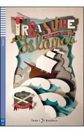 Teen Eli Readers Stage 2 (cef A2): Treasure Island with Audio CD