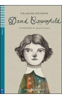 Teen Eli Readers Stage 3 (cef B1): David Copperfield with Audio CD - Dickens Ch.