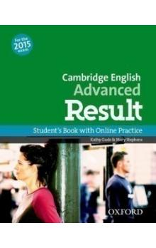 Cambridge English Advanced Result Student´s Book with Online Practice Test