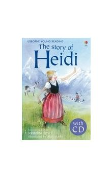 Usborne Young Reading Level 2: the Story of Heidi + Audio