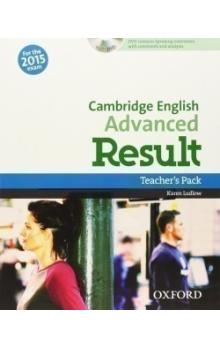 Cambridge English Advanced Result Teacher´s Book with DVD
