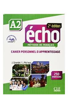 ECHO A2 Cahier personnel + CD 2e éd.