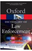 Oxford Dictionary of Law Enforcement (Oxford Paperback Reference)