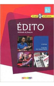 Édito Niveau B2 2015 /UČ + CD Mp3 + DVD/ -- Učebnice
