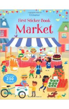 At the Market (First Sticker Book)