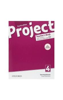 Project Fourth Edition 4 Teacher´s Book with Online Practice Pack