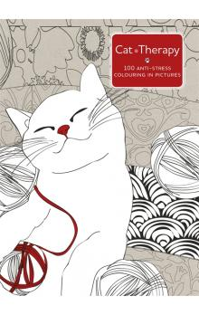 Cat Therapy: A Colouring Book for Adults