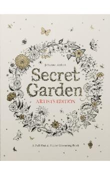 Secret Garden Artist&#39s Edition: A Pull-Out and Frame Colouring Book