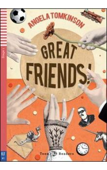 Teen Eli Readers Stage 1 (cef A1): Great Friends with Audio CD