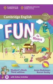 Fun for Movers Student´s Book -- Third edition; with online activities