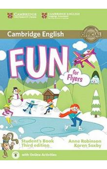 Fun for Flyers Student's Book -- Third edition; with online activities - Robinson Anne, Saxby Karen