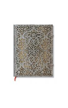 Paperblanks Silver Filigree Natural Ultra Lined