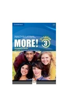 More! Level 3 Student's Book with Cyber Homework and Online Resources, 2 ed -- Učebnice