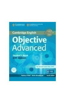 Objective Advanced Student's Book with Answers with CD-ROM -- Učebnice