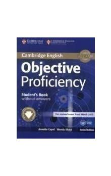 Objective Proficiency Student's Book without Answers with Downloadable Software, 2 ed -- Učebnice