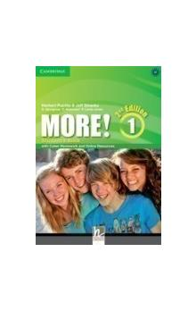 More! Level 1 Student's Book with Cyber Homework and Online Resources, 2 ed -- Učebnice