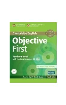 Objective First Teacher's Book with Teacher's Resources CD-ROM -- Příručka učitele