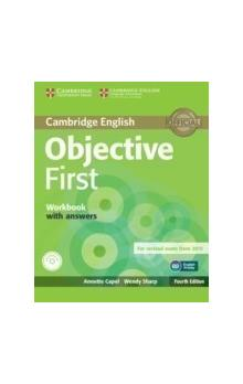 Objective First Workbook with Answers with Audio CD -- Pracovní sešit