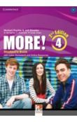 More! Level 4 Student's Book with Cyber Homework and Online Resources, 2 ed -- Učebnice
