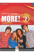 More! Level 2 Student's Book with Cyber Homework and Online Resources, 2 ed -- Učebnice