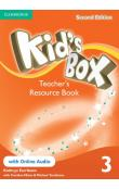 Kid's Box Level 3 Teacher's Resource Book with Online Audio, 2 ed -- Příručka učitele