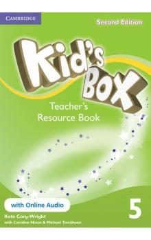 Kid's Box Level 5 Teacher's Resource Book with Online Audio, 2 ed -- Příručka učitele