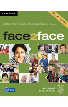 face2face Advanced Student's Book with DVD-ROM -- Učebnice