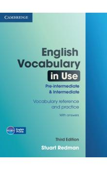 English Vocabulary in Use Pre-intermediate and Intermediate with Answers -- Učebnice