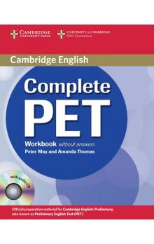 Complete PET Workbook without answers with Audio CD -- Pracovní sešit