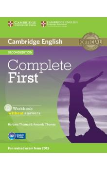 Complete First Workbook without Answers with Audio CD -- Pracovní sešit