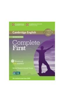 Complete First Workbook with Answers with Audio CD -- Pracovní sešit
