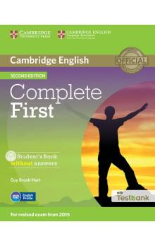 Complete First Student's Book without Answers with CD with Testbank -- Učebnice - Brook-Hart Guy