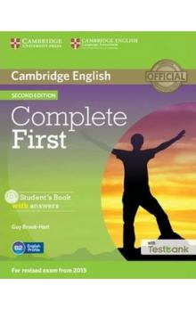 Complete First Student's Book with Answers with CD with Testbank -- Učebnice - Brook-Hart Guy