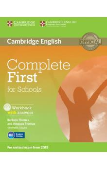 Complete First for Schools Workbook with Answers with Audio CD -- Pracovní sešit