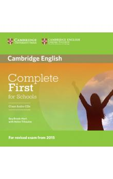Complete First for Schools Class Audio CDs (2) -- CD