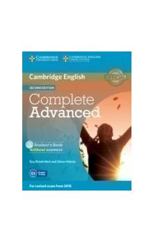Complete Advanced Student's Book without Answers with CD-ROM -- Učebnice - Brook-Hart Guy, Haines Simon