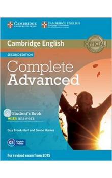 Complete Advanced Student's Book with Answers with CD-ROM -- Učebnice