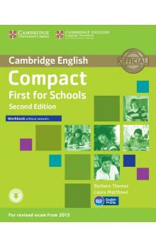 Compact First for Schools Workbook without Answers with Audio, 2 ed -- Pracovní sešit