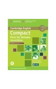 Compact First for Schools Workbook with Answers with Audio, 2 ed -- Pracovní sešit