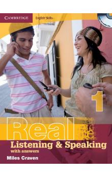 Cambridge English Skills Real Listening and Speaking 1 with Answers and Audio CD -- Učebnice