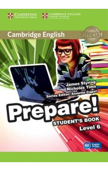 Cambridge English Prepare! Level 6 -- Učebnice