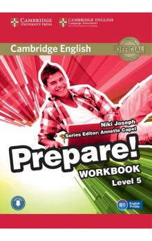 Cambridge English Prepare! Level 5 Workbook with Audio -- Pracovní sešit