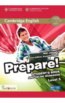 Cambridge English Prepare! Level 5 Student's Book and Online Workbook with Testbank -- Učebnice