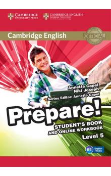 Cambridge English Prepare! Level 5 Student's Book and Online Workbook -- Učebnice