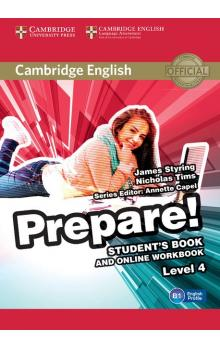 Cambridge English Prepare! Level 4 Student's Book and Online Workbook -- Učebnice
