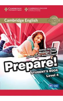 Cambridge English Prepare! Level 4 -- Učebnice