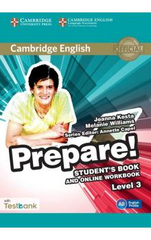Cambridge English Prepare! Level 3 Student's Book and Online Workbook with Testbank -- Učebnice