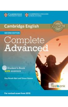 Complete Advanced Student's Book with Answers with CD with Testbank -- Učebnice - Brook-Hart Guy, Haines Simon